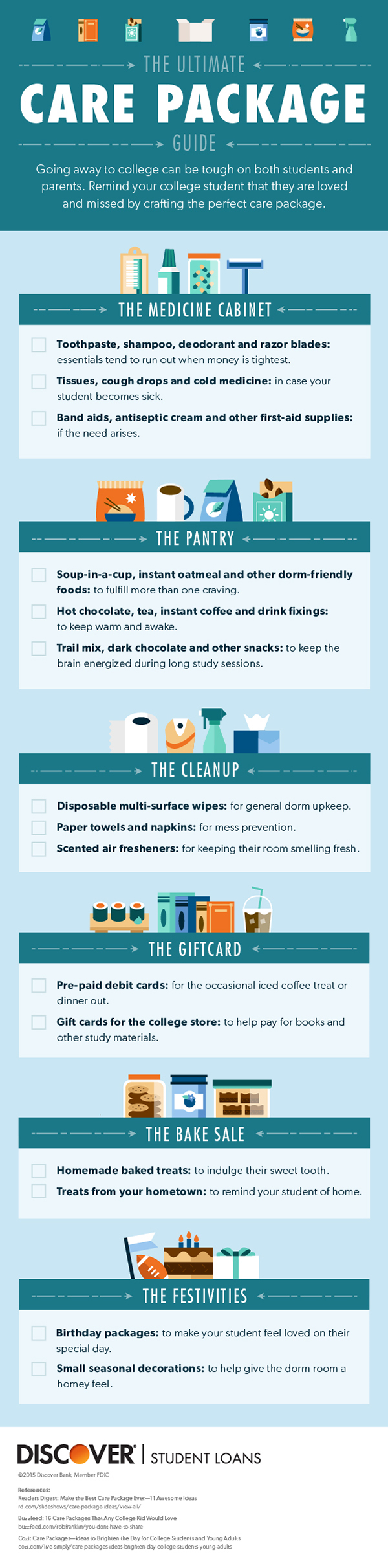 college care package guide dormlife pinterest college gift