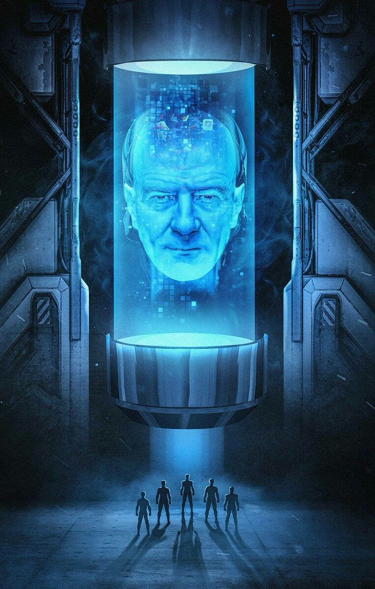Zordon To Be Played By Bryan Cranston Whose Name Was Used For Billy Cranston S Inspiration Power Rangers Fan Art Power Rangers Art Power Rangers Movie