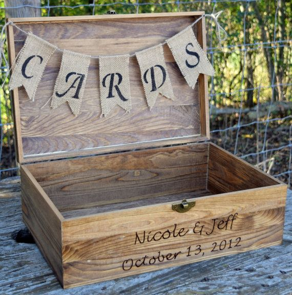 Photo of Shabby Chic Wedding- Rustic Wooden Card Box – Rustic Wedding Card Box – Rustic Wedding Decor – Large Wedding Card Holder – Engraved Card Box