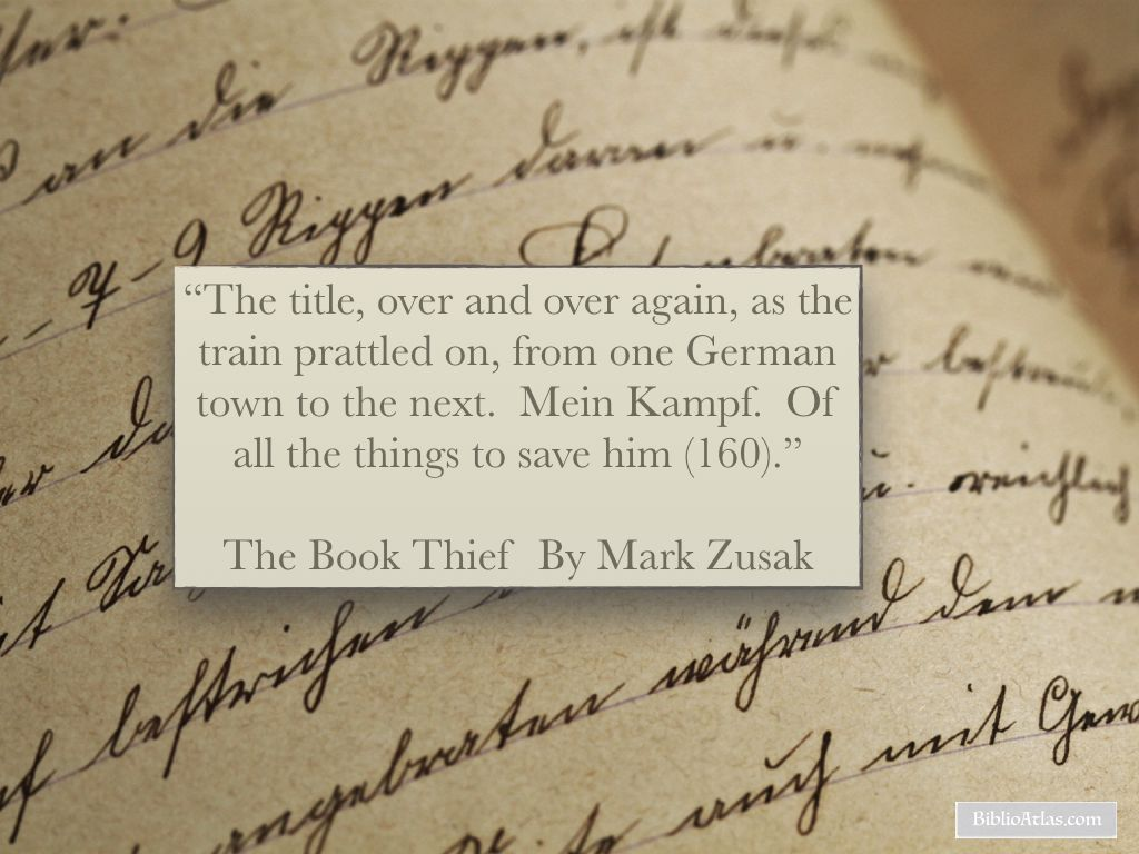 The Book Thief Quotes The Book Thief Quote A Deathly Tale Of Readingmarkus Zusak