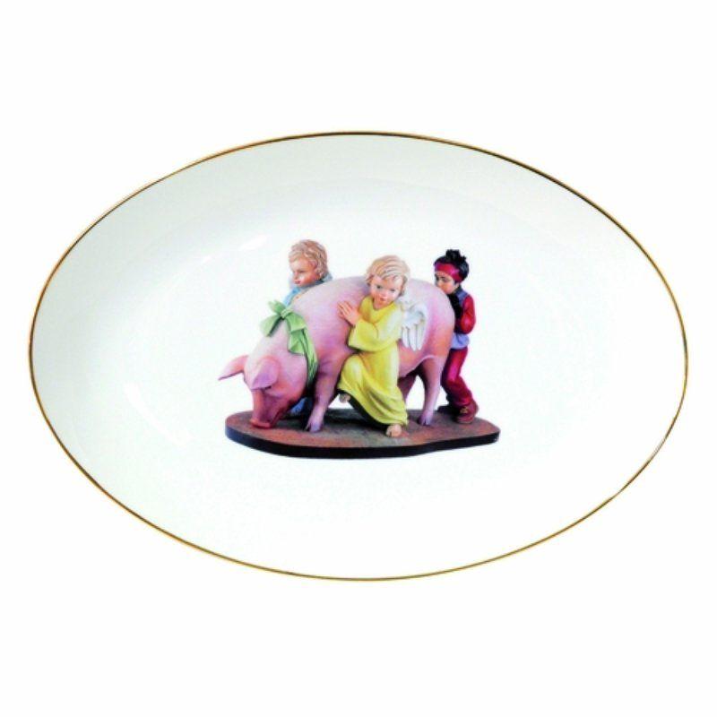 Jeff Koons, Banality Series - Oval platter, Banality series