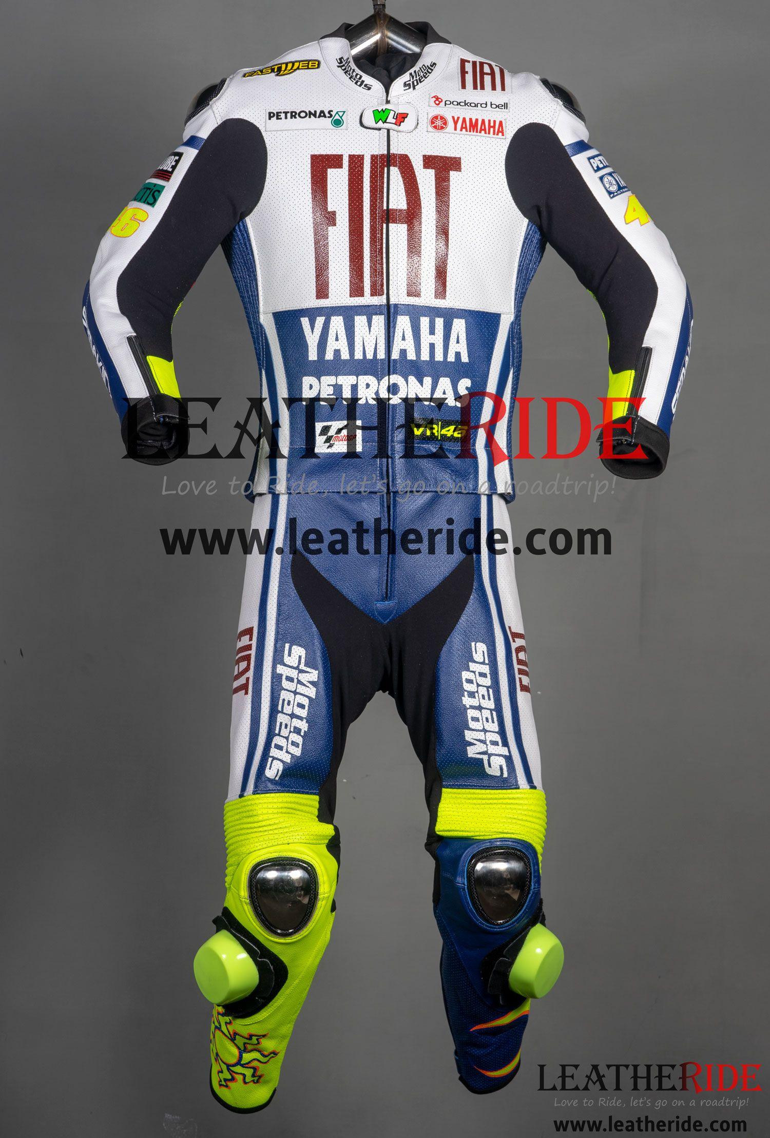 Valentino Rossi Yamaha Fiat MotoGP 2010 Race Suit in 2020