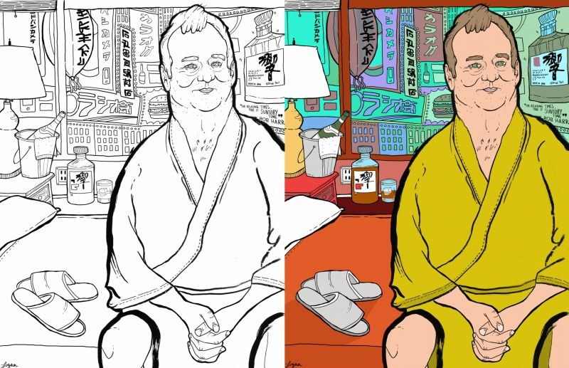Best Thrill Murray Coloring Book 1