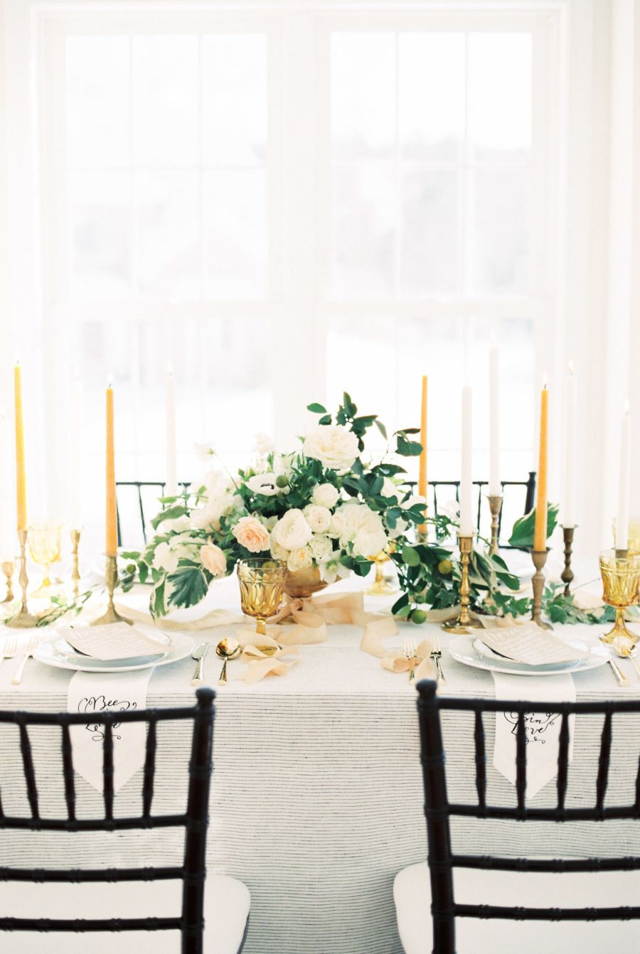 Photography : Ruth Eileen Photography Read More on SMP: http://www.stylemepretty.com/2016/02/04/elegant-organic-bee-in-love-wedding-inspiration/
