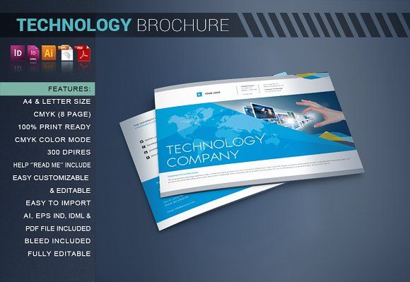 Technology Brochure Catalog By Artico On Graphicsauthor