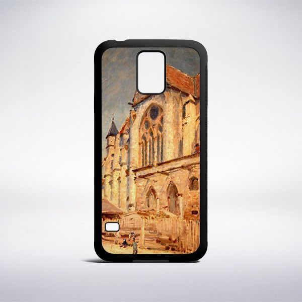 Alfred Sisley - The Church At Moret Phone Case
