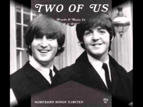 The Beatles - Two of us - Fausto Ramos | The beatles, Paul mccartney, Songs