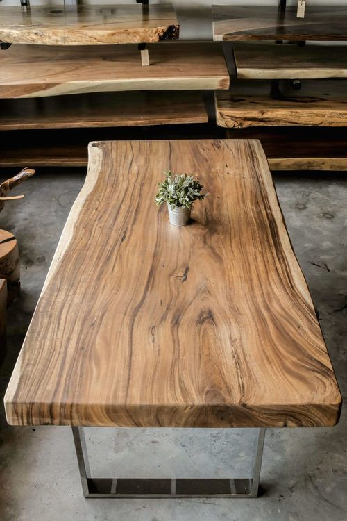 Pin By Absolute Lumber Llc On Dream Raw Wood Coffee Table Wood Coffee Table Design Wood Slab Table