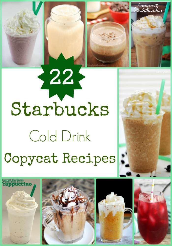Starbucks Copycat Frappuccino Recipes that will Save You Money