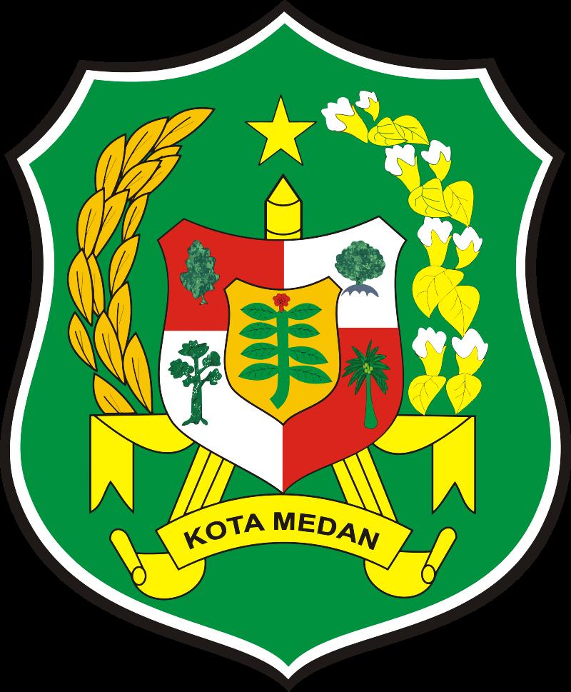 Lambang Kabupaten Kota Medan Kota Indonesia Kota Medan