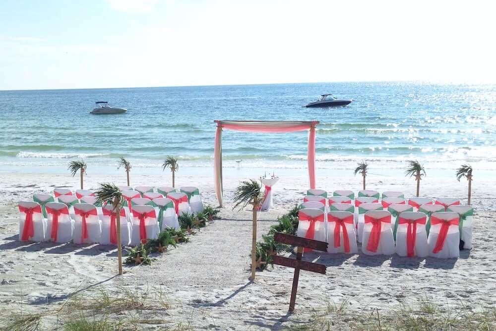 Florida Sun Weddings Beach Destination Wedding Beach Wedding Packages Lido Beach Florida