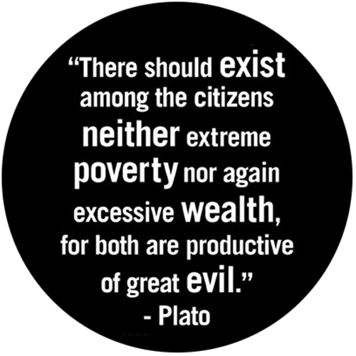 Quotes About Poverty Mesmerizing Quotes  Thoughts  Plato Wealth And Greek Inspiration