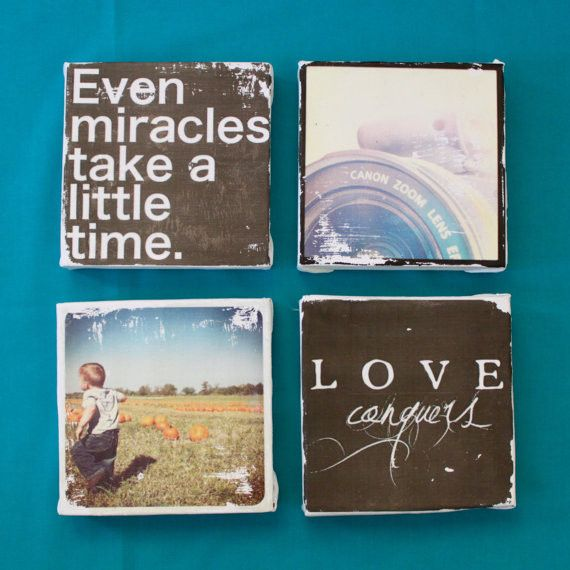 Transform Instagram photos into wall art with a vintage feel with the help of Small Bird Studios' Etsy shop.