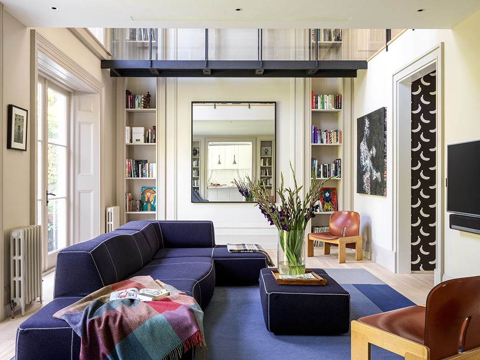 Inside A Rock Star S Swanky London Townhouse Family Room Design