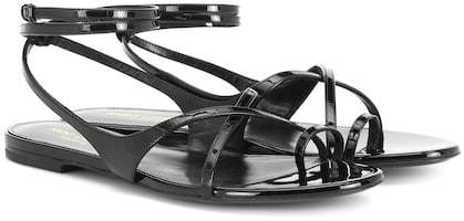 5a5139615efef Saint Laurent Gia patent leather sandals in 2019 | Products ...