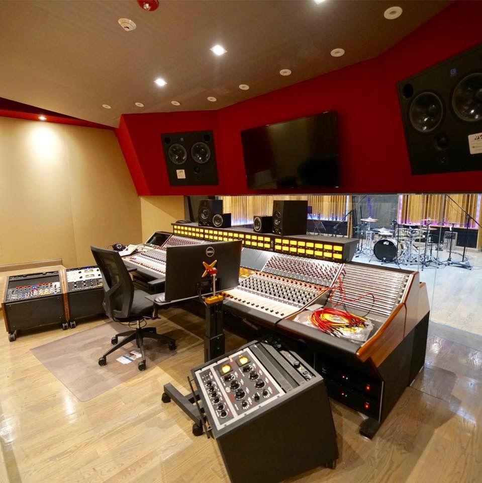 dls studios chicago control room design in 2018 studio