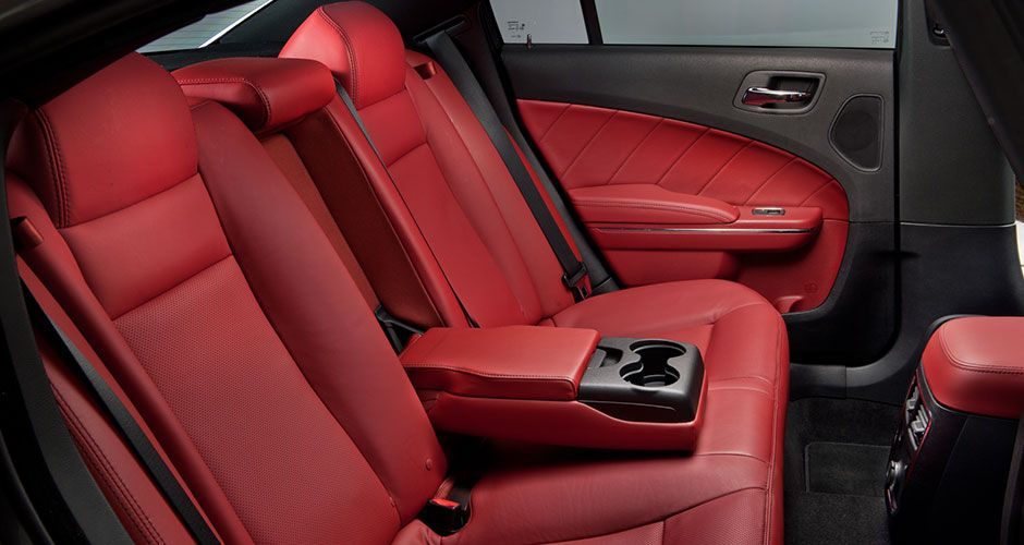 2014 Dodge Charger Radar Red Interior Drive Fierce Relax Hard They Said Adrenaline