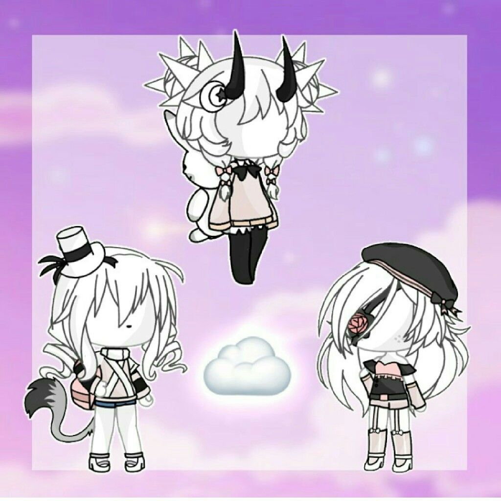 Pin By Aki On Gachalife Cute Anime Chibi Character Outfits Anime Outfits