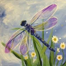 Dragon Fly Painting On Clothes Google Search Dragonfly Painting Painting Canvas Painting
