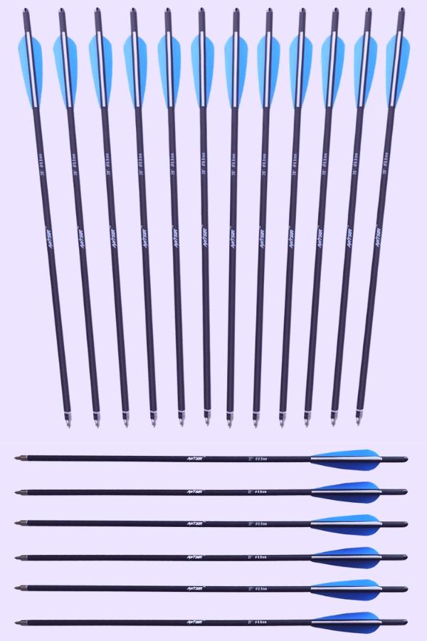 ANTSIR Hunting Arrow Carbon Crossbow Bolts, antsir arrows