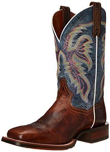 45c9ed22f64 Dan Post Women's Teton 2 Western Boot, Tan/Blue | Wish List | Cowboy ...