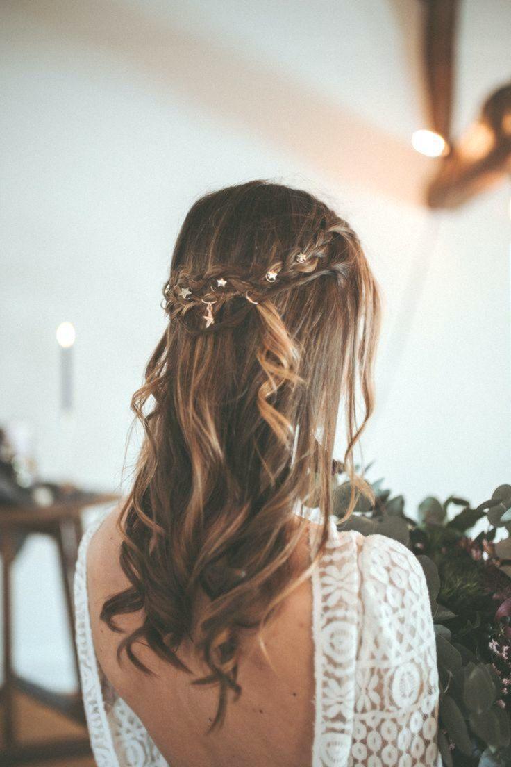 Braut Frisur lange Haare, Braut Frisur geflochten, braut Frisur