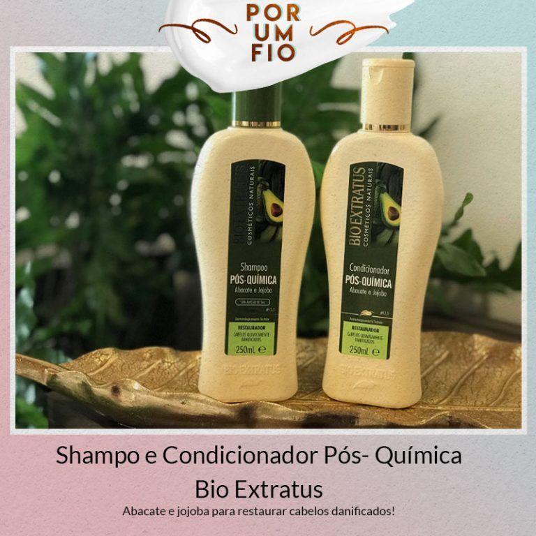Juro Valendo Ju Lopes Bio Extratus Shampoo Bio Extratus