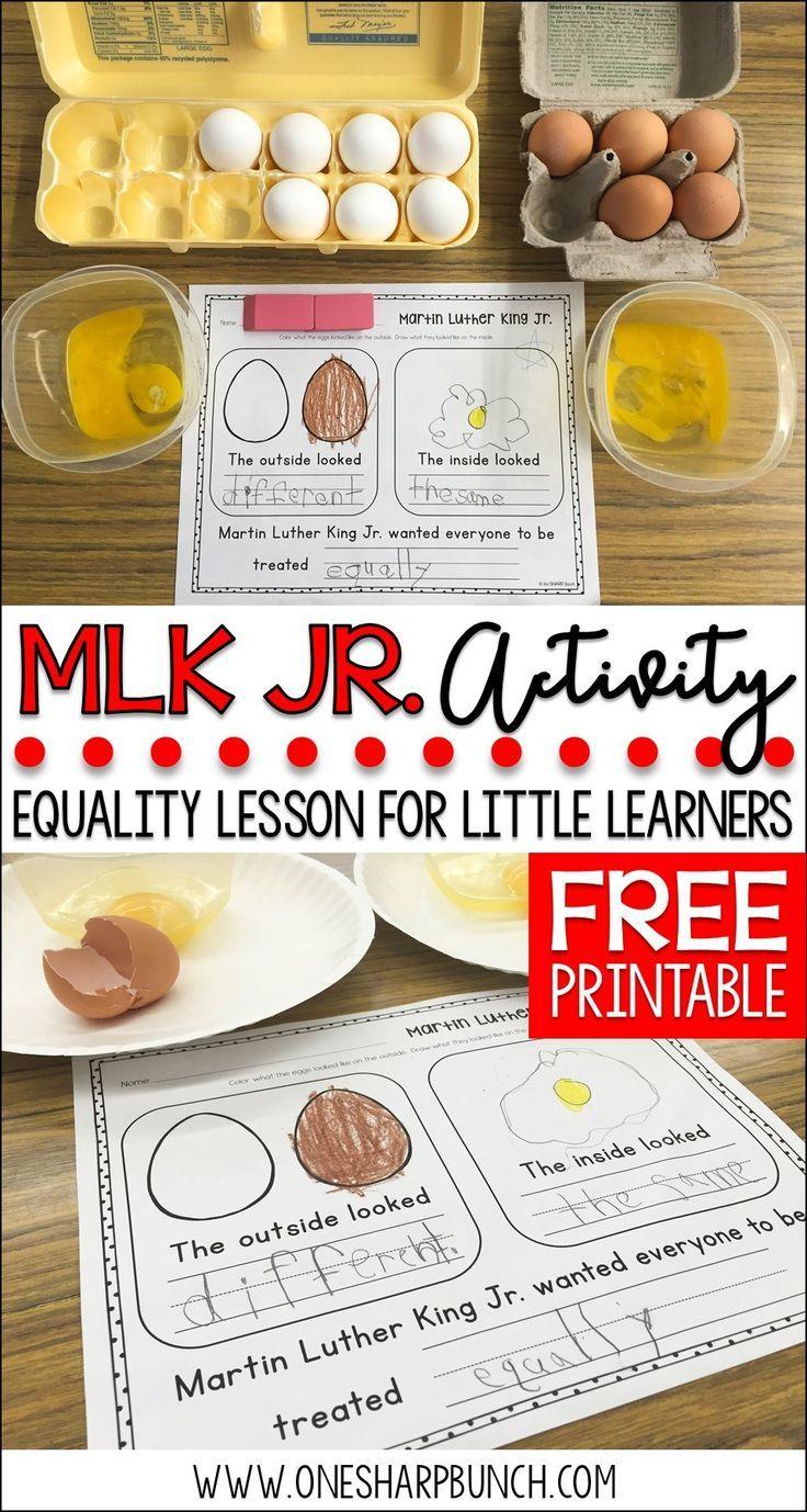 FREE Martin Luther King Jr. Printable