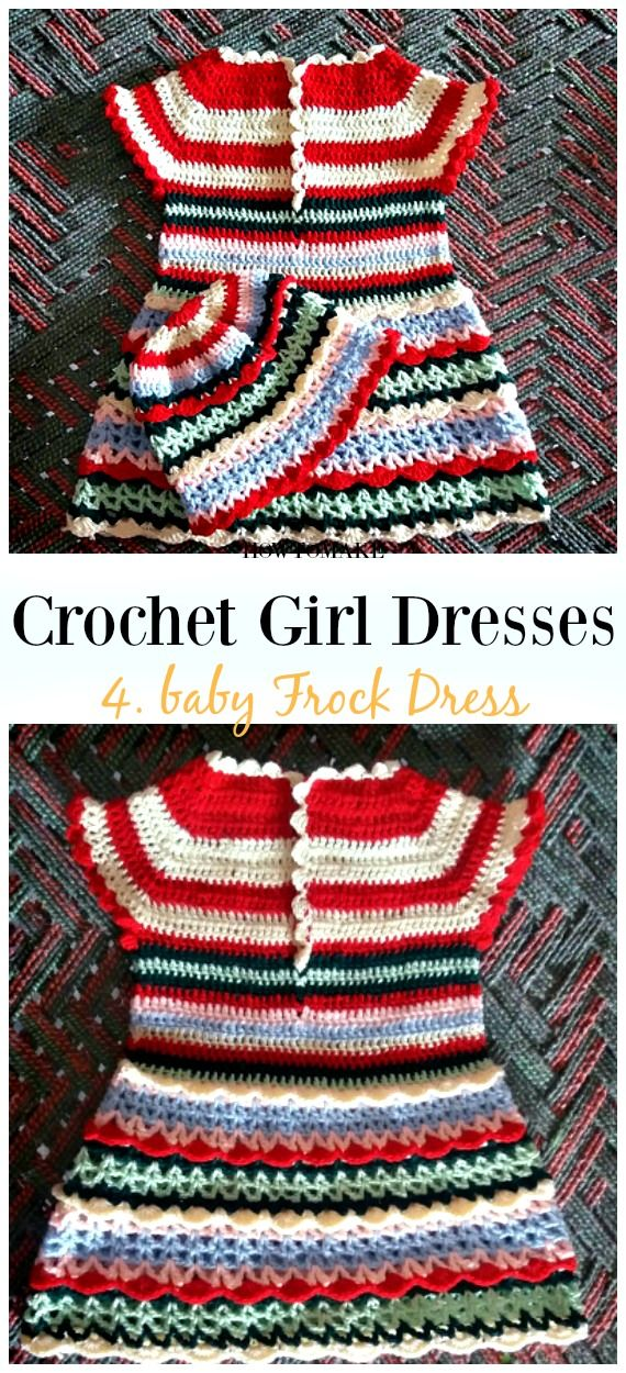 Summer Girl Dress Free Crochet Patterns | Crochet Projects ...