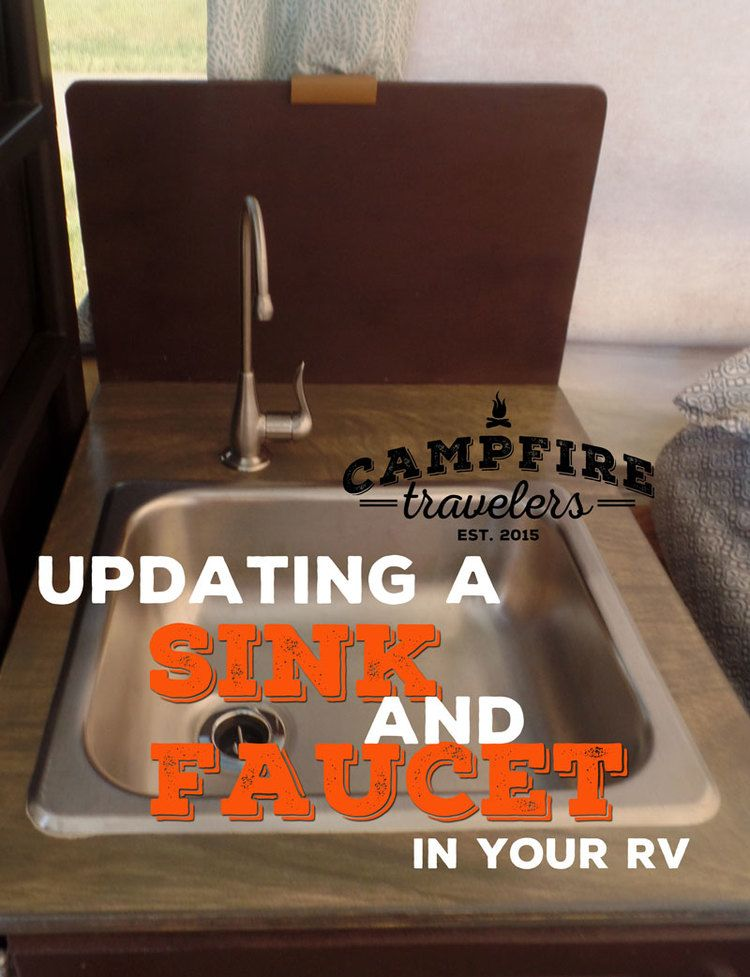 How to Replace RV Sink, Faucet, and
