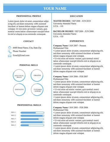 Professional Business Resumes Conservative Professional Business Resume Template 002  Original .