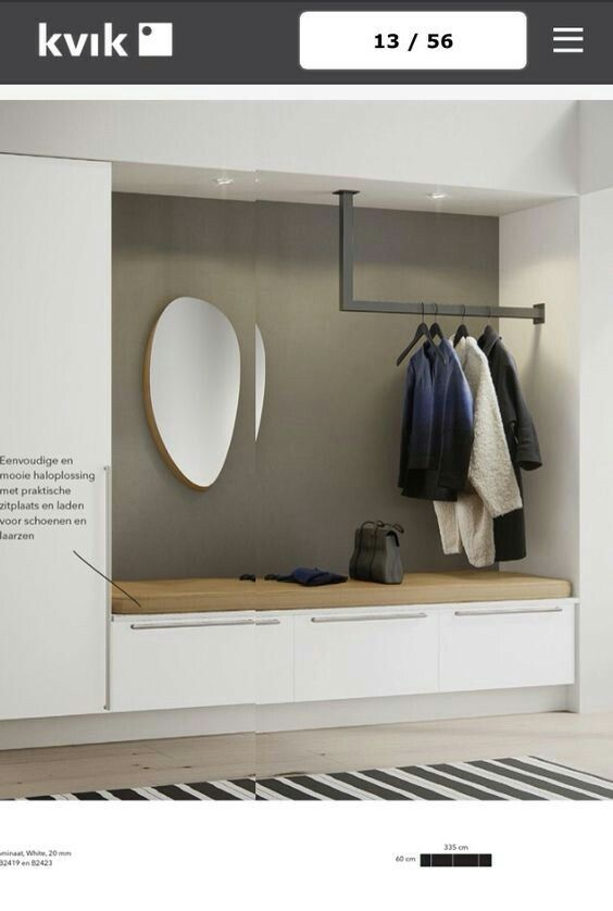 Garderobe Modern garderobe treppe interiors and mud rooms