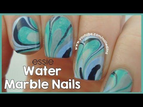 Water Marble Nail Art Tutorial Tips Youtube Httpswww