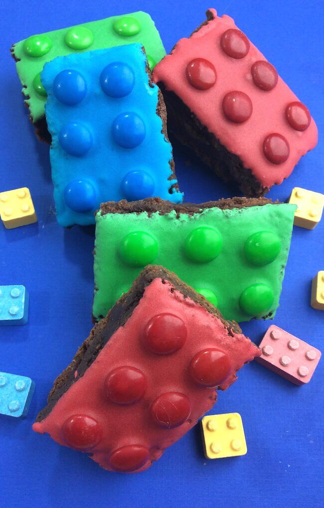 LEGO Brownies are the coolest dessert ever!