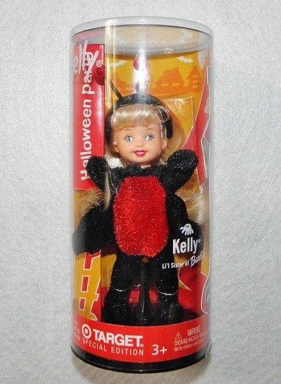 Barbie Kelly Club Halloween Doll Black Spider Target Exclusive! NEW