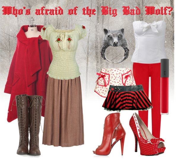 """Who's Afraid of the Big Bad Wolf?"" by obliviousgirl on Polyvore"