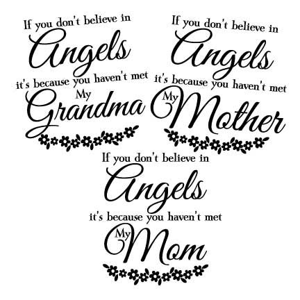 If you don't believe in angels File download vector download... Vector image files