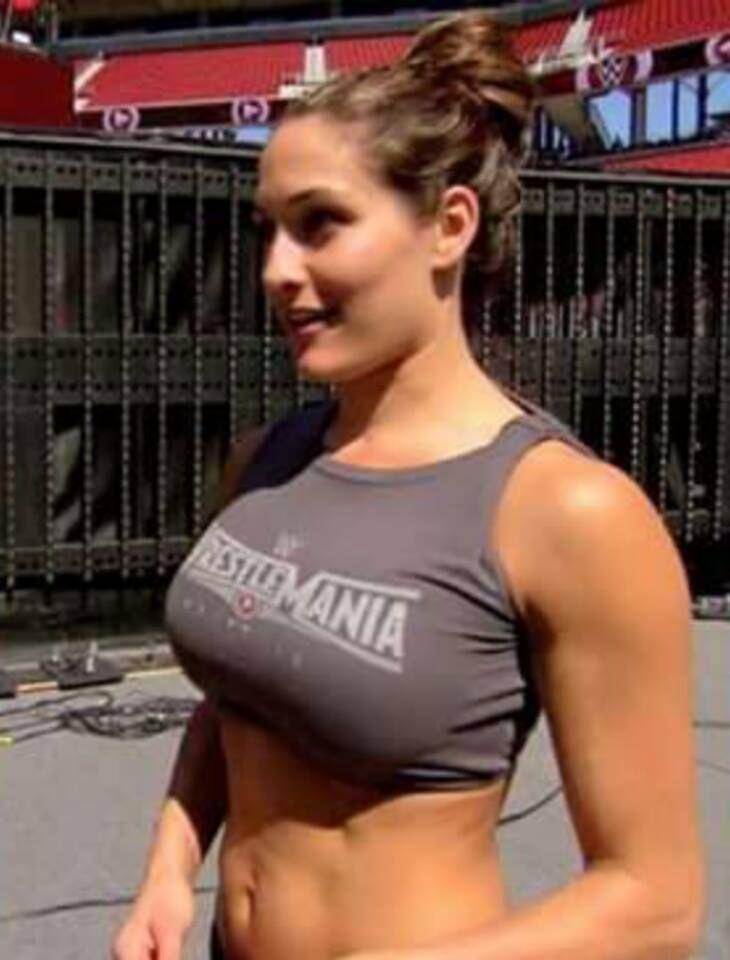 Nikki Bella-Wwe Diva  Nikki Bella Is Hot Af-6735