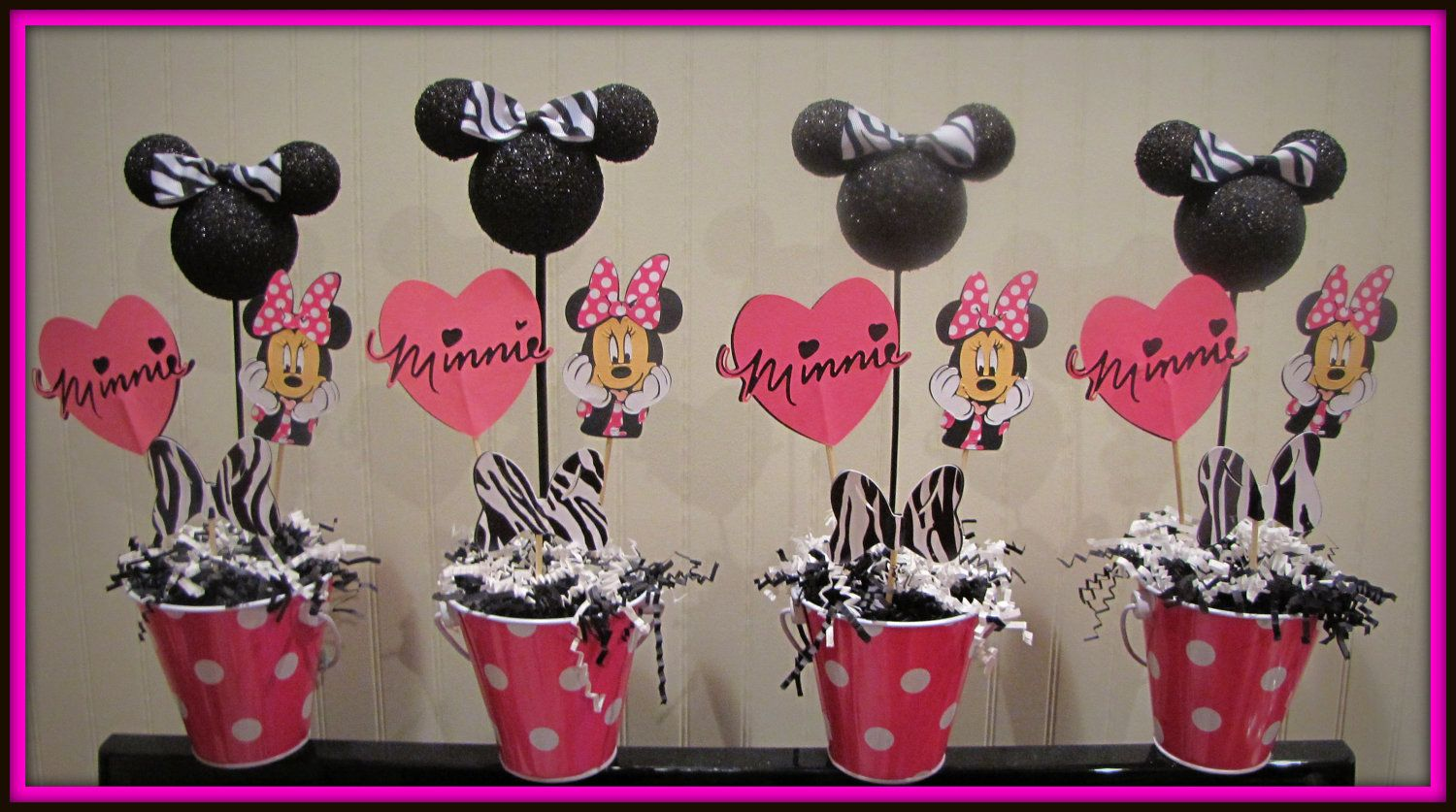 Minnie mouse birthday theme  Minnie Mouse Birthday Decorations by ...