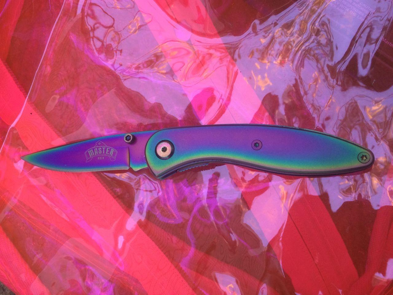 Mini Titanium Knife From Loveless Knife Mini Titanium