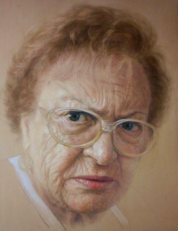 Η γιαγιά του καλλιτέχνη rubén belloso adorna pinterest