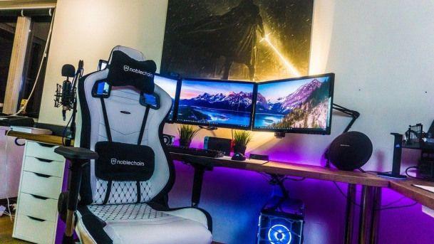 Photo of # 36. Stromen-DIY PC-Gaming-Setup-Ideen. Baue deine Manneshöhle !! #erholungsraum …