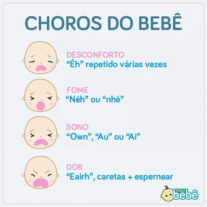Extremamente Choros do bebé | Ervilhitas 1 | Pinterest | Bebês, Gravidez e Mamãe JV64