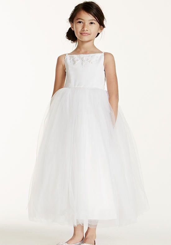a8499f92c4c1b David's Bridal Juniors F5407 Flower Girl Dress - The Knot | Flower ...