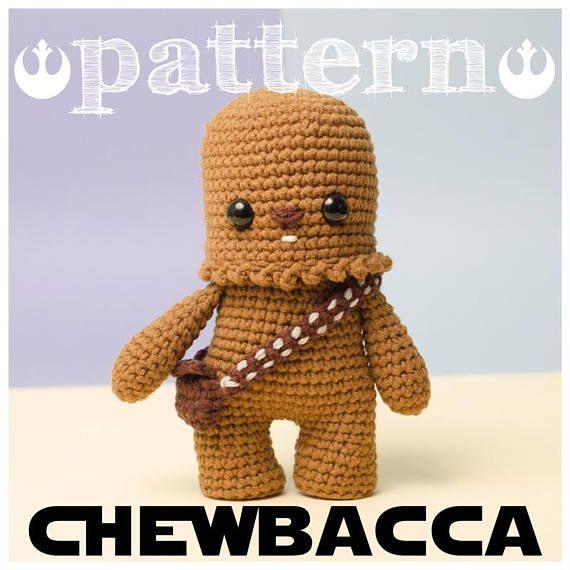 PATRON CHEWBACCA Star Wars - Guerra de las galaxias | crochet ...