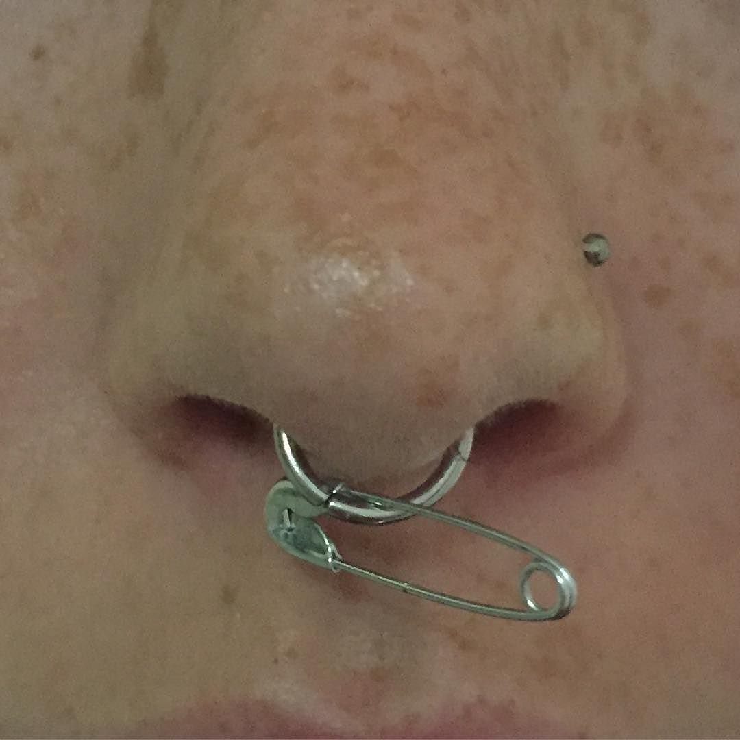 90s nose piercing  Pin by miles on erris c  Pinterest  Piercings Piercing and Oc
