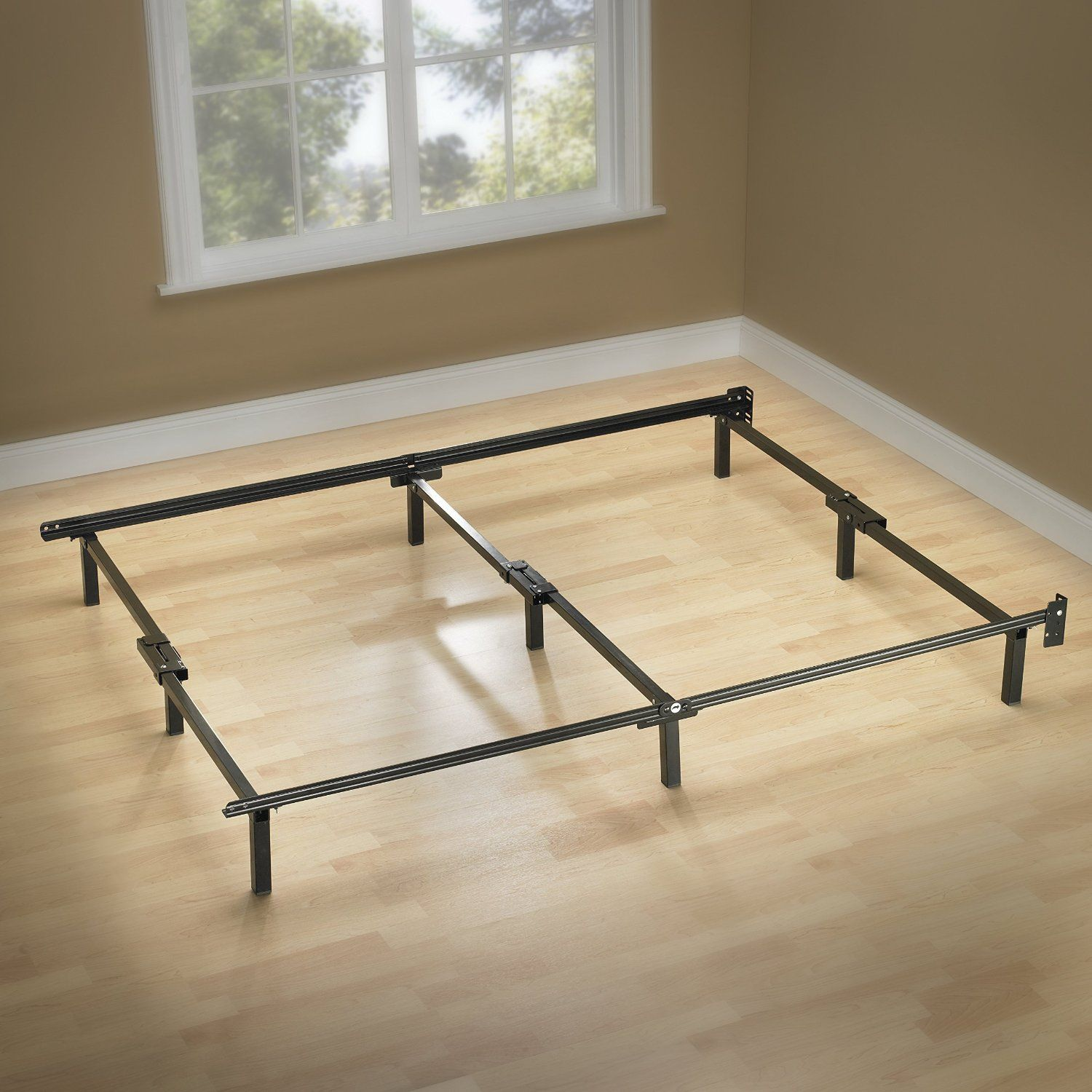 Amazoncom Zinus Compack 9 Leg Support Bed Frame, For Box Spring