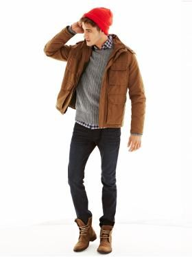 05db697dc3849 I'm rockin this for winter - - Men's Clothing: Men's Clothing: Head-to-Toe  Outfits | Gap