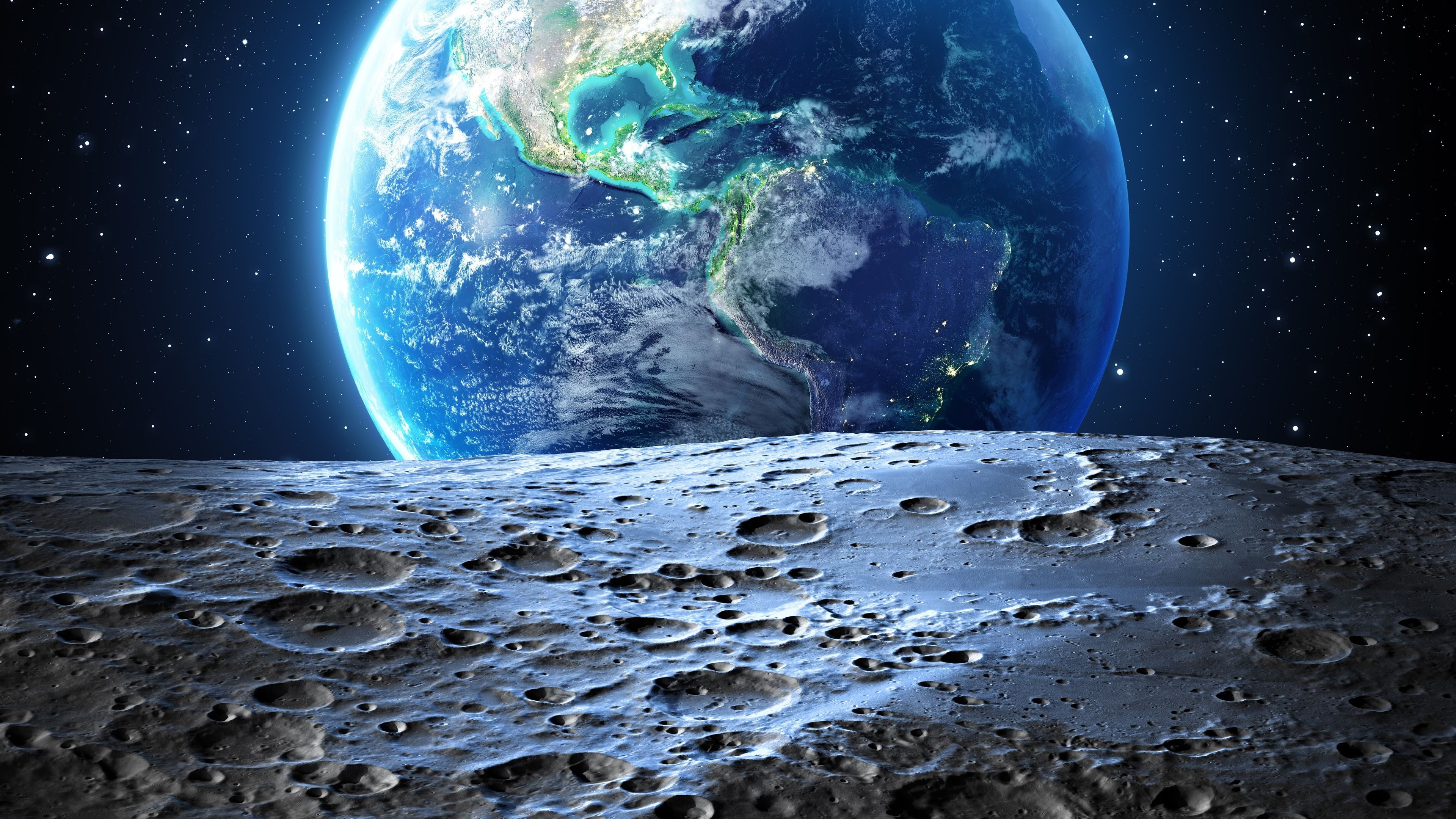 Earth Moon 4k Nature Wallpapers Moon Wallpapers Hd Wallpapers Earth Wallpapers Digital Universe Wallpapers 4k W Wallpaper Earth Earth View Wallpaper Space