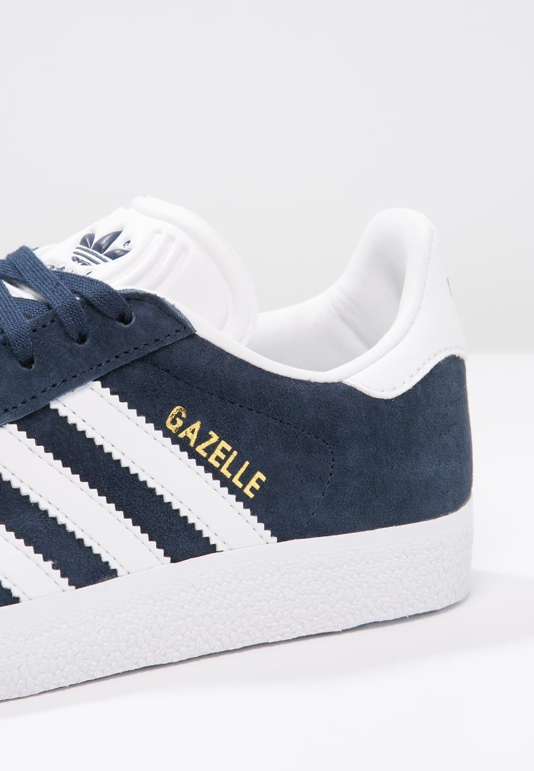 GAZELLE - Sneakers laag - collegiate navy/white/gold ...